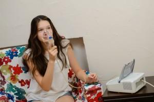 Ингаляция, лечение верхних дыхательных путей
